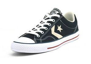 4eca640a973 Image is loading CONVERSE-STAR-PLAYER-OX-UNISEX-TRAINERS-BLACK-MILK-
