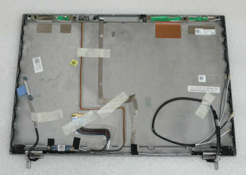 NEW GENUINE DELL LATITUDE E6410 LED LID COVER SILVER HINGES CABLE H61GF 0H61GF