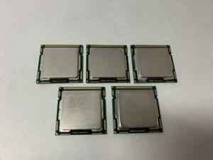 LOT-OF-5-X-DESKTOP-QUAD-CORE-CPU-LGA1156-4X-I5-750-1X-I5-760