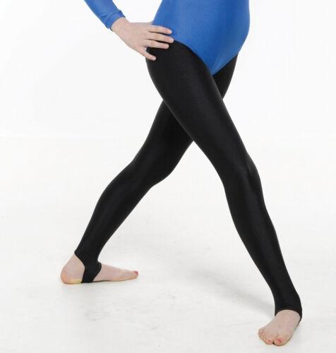 all sizes Black lycra stirrup pants