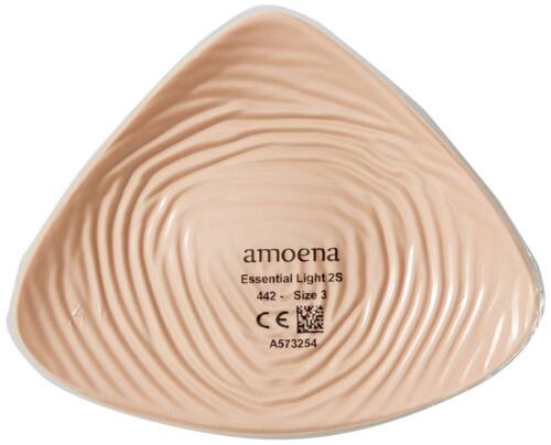 NEW Amoena Essential Light 2S 442 External Breast Prosthesis