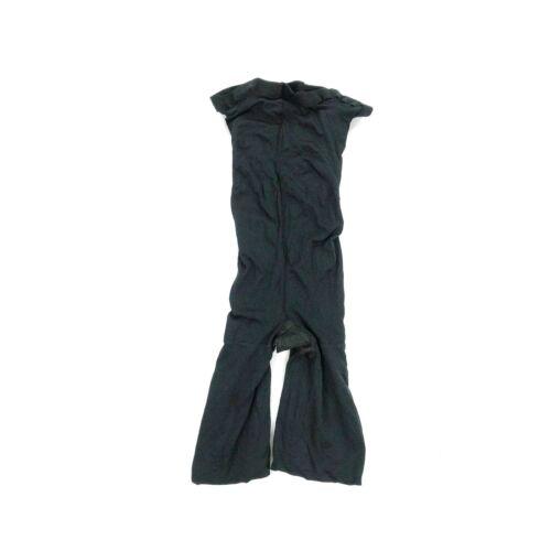 NWOT Spanx Womens Higher Power High Waist Mid Thigh Shaper Shorts Gusset Black D