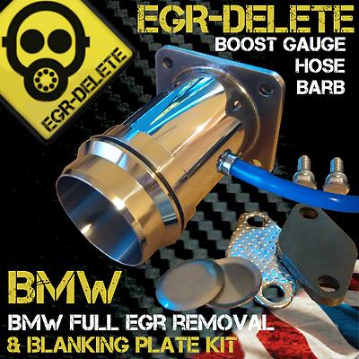 Eliminare EGR BMW E46 330D E60 530D E65 E83 KIT Rimozione Bypass non Blanking Piastra