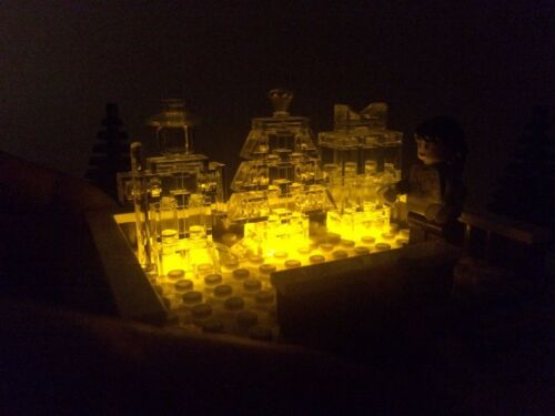 LEGO Winter Village Woodcarver INSTRUCTIONS ONLY for LEGO Bricks Christmas