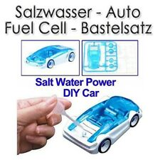 Salzwasser Fuel Car Bastelsatz Salt Water Fuel Cell DIY Car Kit Brennstoffzelle
