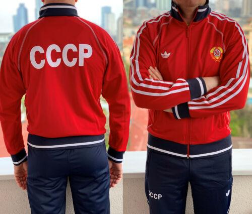 Cccp Olympische Rusland Ussr Uniform Trainingspak Adidas Vintage Rode Sovjet 80 Unie Spelen wFUqxaC