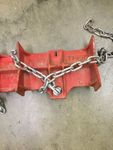 Jewel 2D Pipe Welding Clamp 24 inch long weld chain clamping work holding vice