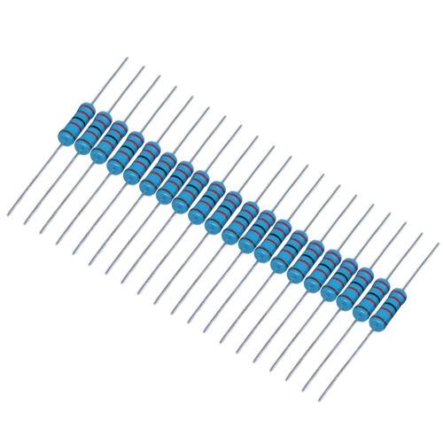 US Stock 200 pcs 3K ohm 3Kohm 1//4W Watt  Metal Film Resistor 0.25W 1/%