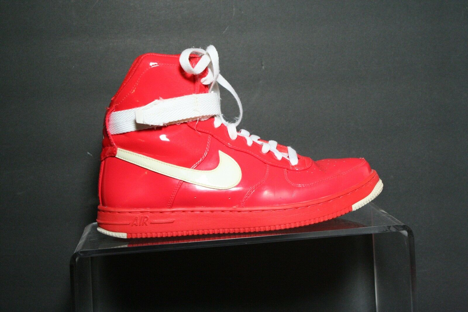 Nike Nike Nike Air Feather Hi PRM '10 Sneaker Women 8.5 Athletic Multi Crimson White Hip b710b4