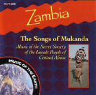 Zambia: The Songs of Mukanda by Various Artists (CD, May-1997, Multi Cultural Media)