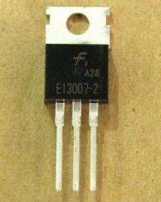 100PCS E13007-2 FSC TO-220 AMP Output Transistor NEW GOOD QUALITY