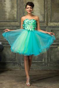 Stunning-Women-Mini-Short-Evening-Party-Bandeau-Bridesmaids-Cocktail-Dresses-New