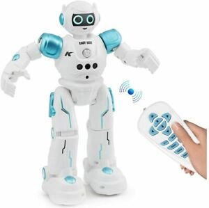 Robot Toys for Kids - Rc Smart Programmable Remote Control Robots Rechargeable w