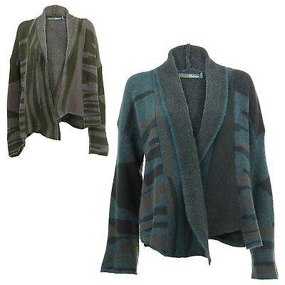 buy popular 8c365 65338 Ladies Wool Cardigan BOHEMIA SWEDEN Shawl Collar Knit Wool-rich Winter  Jacket | eBay