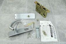 Stainless Steel Falcon Classroom Door Handle + Lock