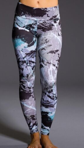 $82 NWT Onzie Yoga Graphic Glacier Print Graphic Leggings