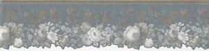 Wallpaper-Border-Gray-White-Blue-Floral-with-Bronze-Ivy-on-Gray-Blue-Die-Cut