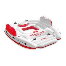 Intex Inflatable Marina Breeze Island Lake Raft with Built-In Cooler | 56296CA