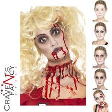 Zombie Walking Dead Make-Up FX Blood Halloween Face Paint Fancy Dress Costume