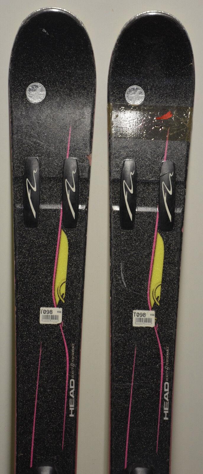 Ski parabolisch gebraucht Frau HEAD Mya Mya Mya   8 - 156cm & 163cm 7cbdab