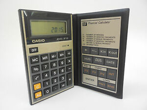 CASIO-BF-80-VINTAGE-FINANCIAL-CALCULATOR-EASY-BANKER-NIB-1980S-BF80-LCD-JAPAN