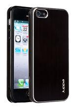 Juppa ® Apple iPhone 5s/Ultra Slim Fit se Custodia Cover con elegante placca alluminio