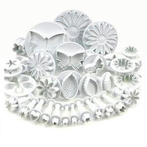 QZO-33pcs-Sugarcraft-Cake-Decorating-Fondant-Plunger-Cutters-Tools-Mold