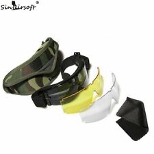 USMC Airsoft Tactical Bulletproof Army Sun Glasses Goggles Eyewear Protection
