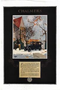1920 Disteel Wheels-Chalmers Motors-Vintage Car Ads-Limousine-Touring Car-Luxury