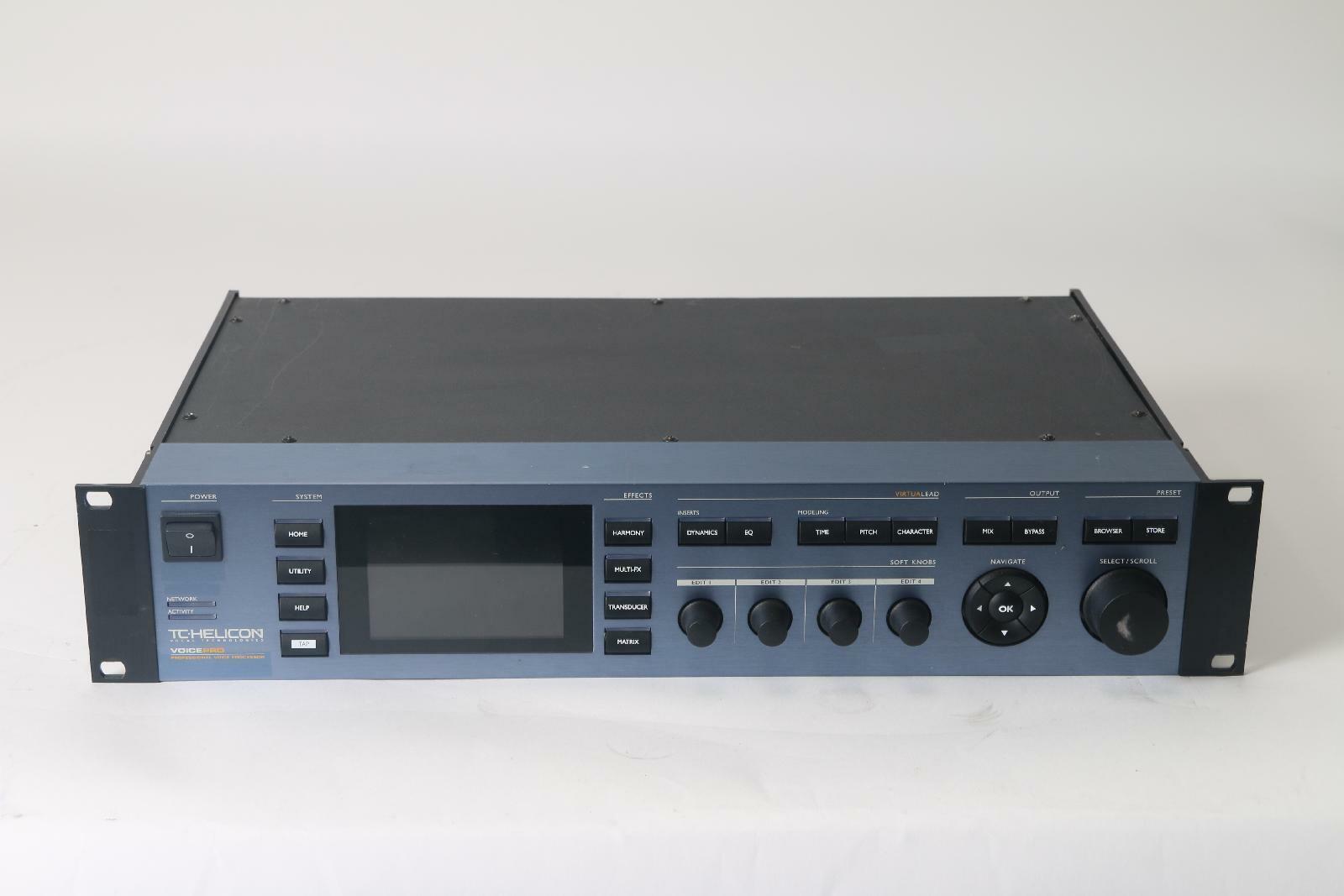 TC Helicon Voice Pro VoicePro Boxbuild Professional Voice Processor- Fair