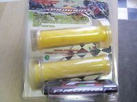 Progrip Gp Gel Grips Yellow Transparent Best Grip In Weather 7/8absorbs Vibrati