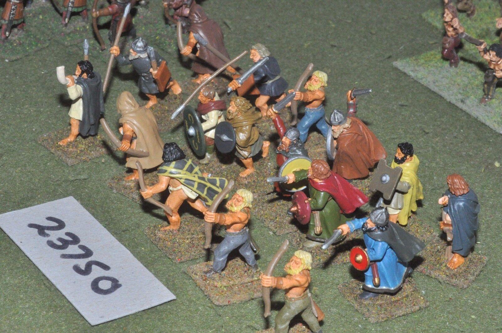 25mm roman   pict - warriors 16 figures - inf (23750)