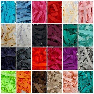 Headband Soft Baby Tutu Fold Over FOE Elastic Lots Of Colours Free P/&P /&Multibuy