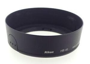 Nikon Hb-45 Lente Hood para AF-S 18-55mm Lente de la serie