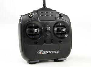 Rc Quanum I8 8ch 2.4ghz Afhds 2a Système de radio proportionnelle numérique Mode 2 Noir