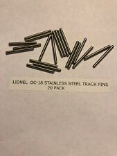 Lionel Train Track Pin Pins O27 O 027 0 Gauge Fiber Insulated Steel