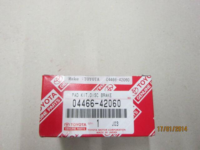 Original Toyota Bremsklötze Hinten RAV 4 A3 ab Baujahr 11/2005 bis 12/2012