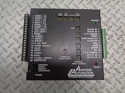 1 USED ANAHEIM AUTOMATION DPD72211 MANUAL PRESET INDEXER DRIVER ***MAKE OFFER***