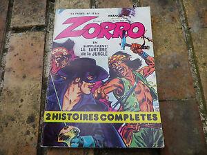 ZORRO-COULEUR-n-19-bis-DPE-SFPI-edition-1982-tres-bon-etat-comme-neuf
