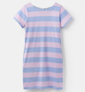 Joules-Ottie-Dress-Blue-Pink-Stripe-Now-With-Over-30-Off