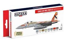 Hataka HTK-AS62 Israeli Air Force Modern Jets Late 1970s-Present Paint Set