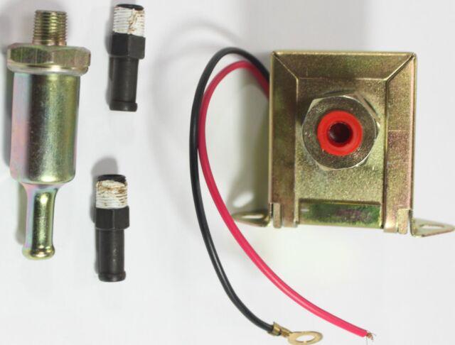12 volts New Low Pressure Universal Electric Fuel Pump 5-9 PSI