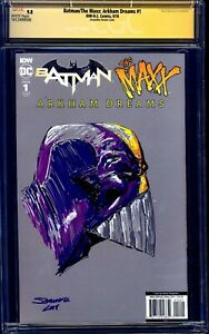 Batman-Maxx-1-VIRGIN-VARIANT-CGC-SS-9-8-signed-MAXX-SKETCH-Johnny-D-Desjardins