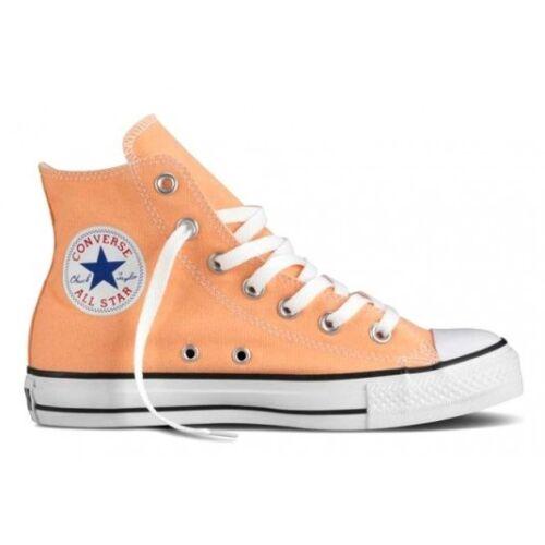donne 3 in una nuova Ct scatola le Converse taglia Peach Hi UK per C8pXwBq