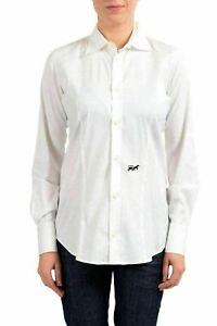 540a4341a Dsquared2 White Button Down Women's Blouse Shirt US S IT 40 | eBay
