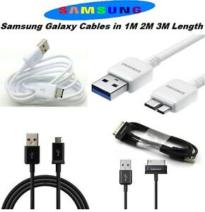 Micro-USB-cargador-Cable-Cable-Para-Tablet-Telefono-Movil-Original-SAMSUNG-GALAXY