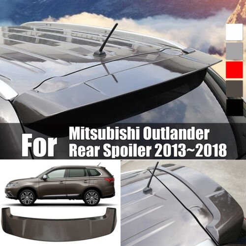 Paint Factory Style Spoiler Wing For Mitsubishi Outlander Rear Spoiler 2013~2018