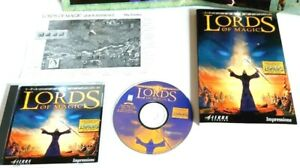Lords-of-Magic-Special-Edition-1998-PC-game-disc-book-poster-amp-more-No-Big-Box