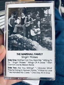 Marshall Family Sing in' Praises—-new Sealed Cassette