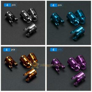 4pcs Invisible Body Post Mount for 1//10 AXIAL SCX10 4WD RC Car Black